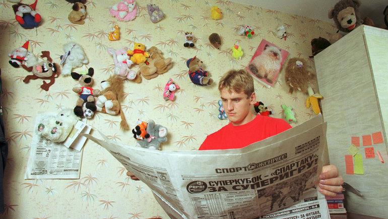 1999 год. Москва. Дмитрий Булыкин. Фото Андрей Голованов иСергей Киврин, -