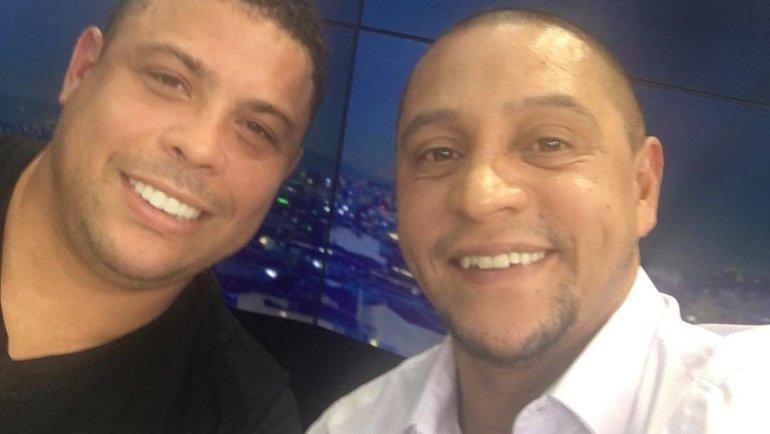 Роберто Карлос и Роналдо. Фото Instagram
