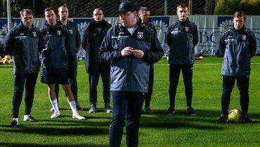 Слуцкий сравнил тренировки после самоизоляции снеуклюжими игроками изфильма «Убойный футбол»