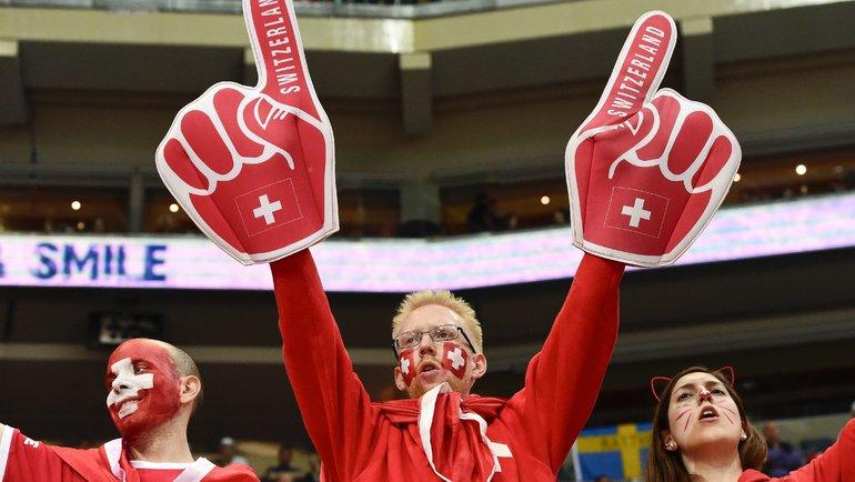 Швейцария может получитьЧМ похоккею после срыва турнира в2020-м? Фото AFP