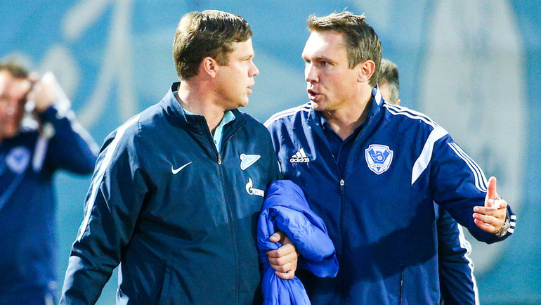 Андрей Талалаев (справа) иВладислав Радимов. Фото Сергей Литвак