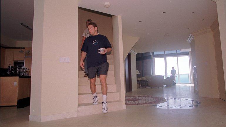 24декабря 1999 года. Майами. Павел Буре. Фото Александр Вильф, -