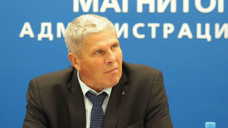 Вице-президент «Металлурга» Сергей Ласьков. Фото ХК «Металлург»