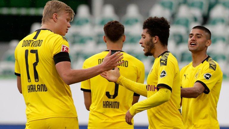 23мая. Вольфсбург. Стадион «Фольксваген Арена». «Вольфсбург»— «Боруссия Д»— 0:2. Фото AFP