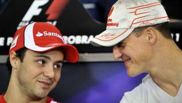 Фелипе Масса: «Знаю, вкаком сейчас состоянии Шумахер»