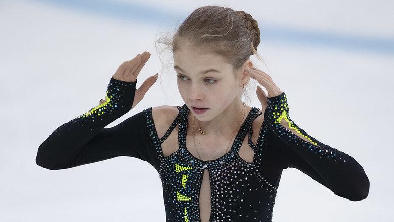 Александра Трусова. Фото Ксения Нуртдинова.
