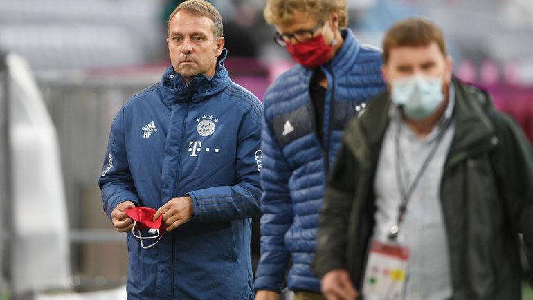 Ханс Флик (слева). Фото Reuters4