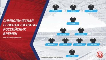 Символическая сборная «Зенита» российских времен. Фото «СЭ»
