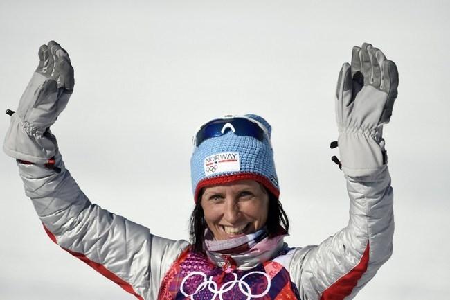 Марит Бьорген. Фото AFP