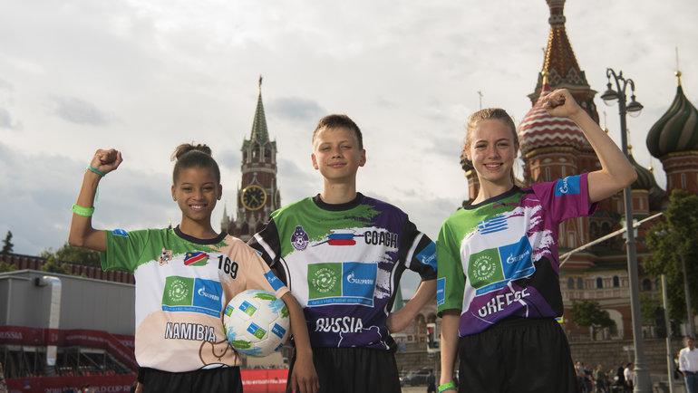 «Футбол для дружбы» объединяет нетолько детей, ноикрупные мировые структуры.