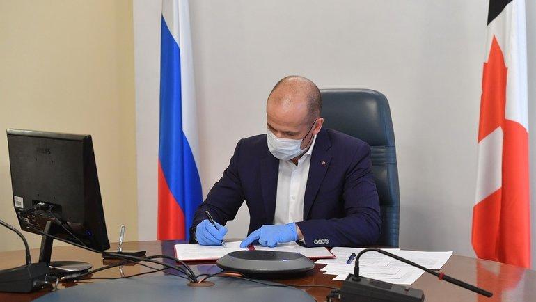 Глава Удмуртии Александр Бречалов. Фото vk.com