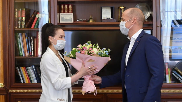 Алина Загитова и Александр Бречалов. Фото facebook.com
