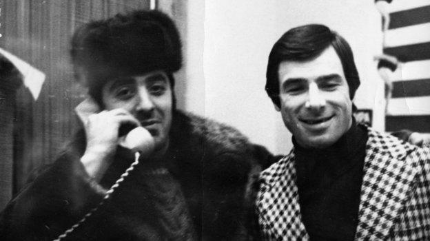 1980 год. Москва. Александр Львов иВалерий Харламов. Фото -