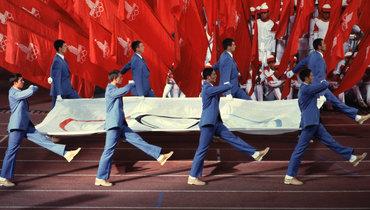 19июля 1980 года. Москва. Церемония открытия Олимпиады.