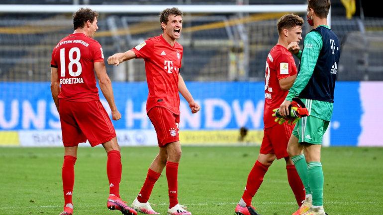 Лидер бундеслиги «Бавария» в29-м туре чемпионата сыграет с «Фортуной». Фото twitter.com/FCBayern