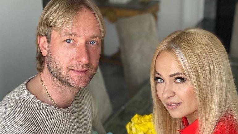 Евгений Плющенко иЯна Рудковская. Фото instagram.com