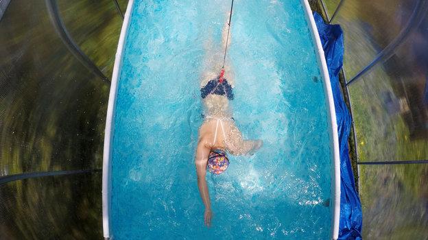 Тренировка Елизаветы Беляевой. Фото Reuters