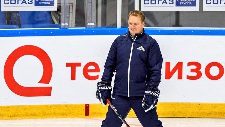 Новый главный тренер «Салавата Юлаева» Томи Лямся. Фото ХК «Салават Юлаев»