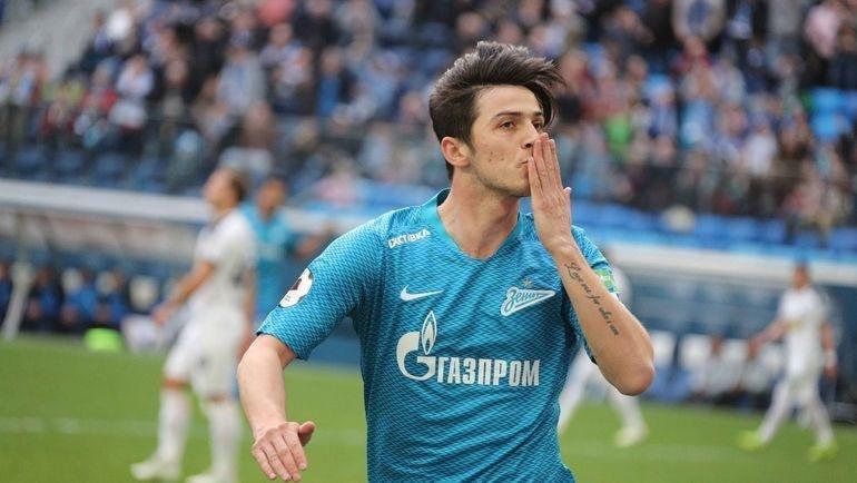 Сердар Азмун. Фото ФК «Зенит»