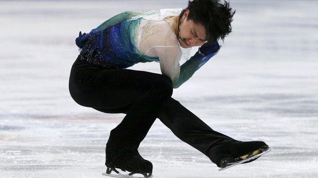 Юдзуру Ханю. Фото Reuters