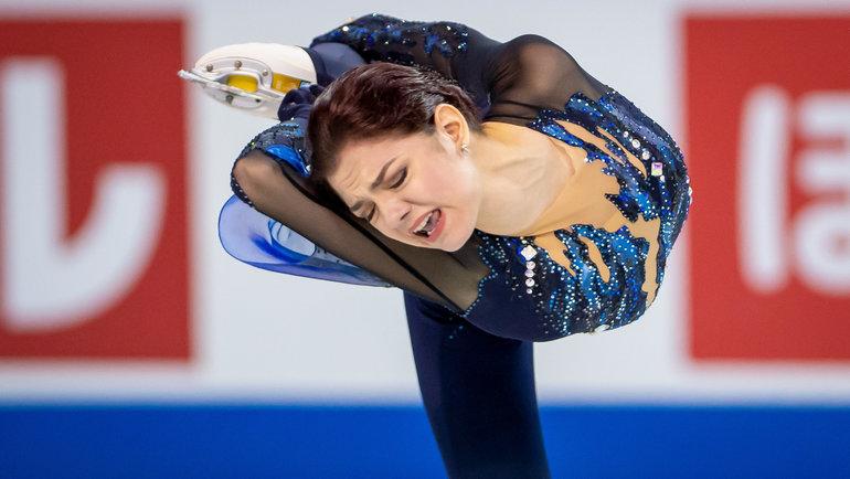 Евгения Медведева. Фото USA Today Sports
