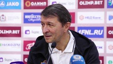 Юрий Газзаев покидает «Енисей»