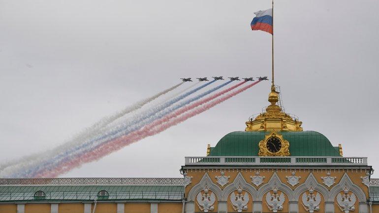 9мая вМоскве прошла авиационная часть Парада Победы. Фото AFP