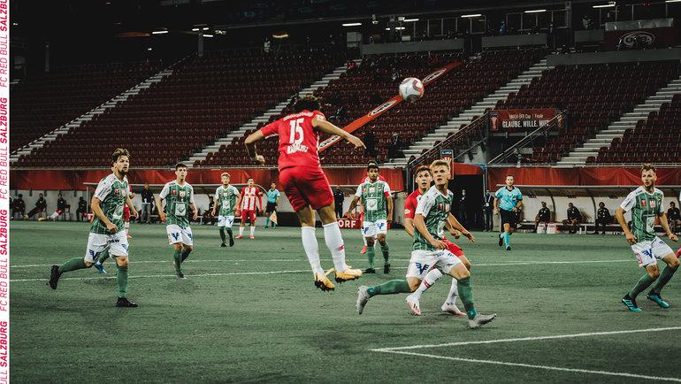 Матч «Зальцбург»— «Аустрия Люстенау». Фото Twitter