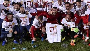 «Црвена Звезда» досрочно выиграла чемпионат Сербии