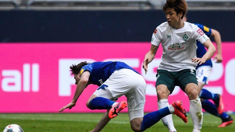 Хозяева потерпели четвертое поражение после возобновления бундеслиги. Фото AFP