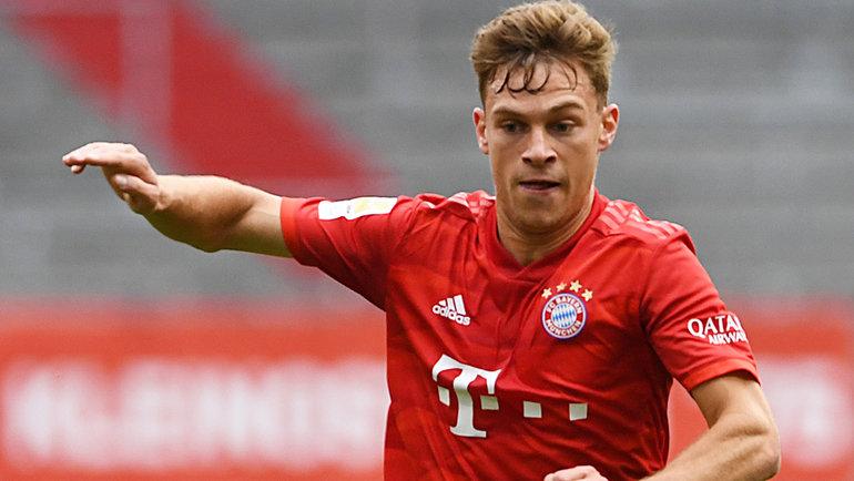 30мая. Мюнхен. «Бавария»— «Фортуна»— 5:0. Джошуа Киммих. Фото Reuters