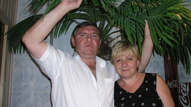 Владимир Крутов с супругой Ниной. Фото Динара Кафискина.