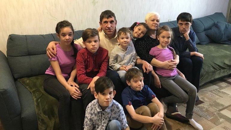 Семья Еськовых.