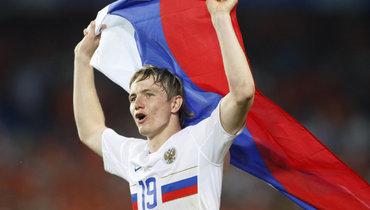Павлюченко— автор лучшего гола сборной России начемпионатах Европы. Онзабил чехам наЕвро-2012