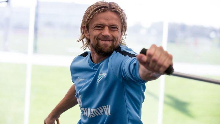 Анатолий Тимощук. Фото ФК «Зенит»