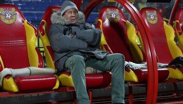6декабря 2019 года. Тула. «Арсенал»— «Локомотив»— 4:0. Юрий Семин.