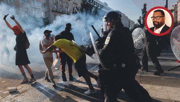 Вомногих крупных городах США проходят демонстрации ипротесты.