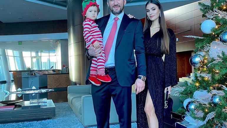 Семья Овечкиных. Фото Instagram
