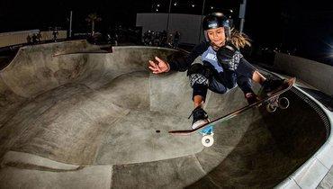 Почему британской скейтбордистка Скай Браун разрешают выступать наОлимпиаде в12 лет