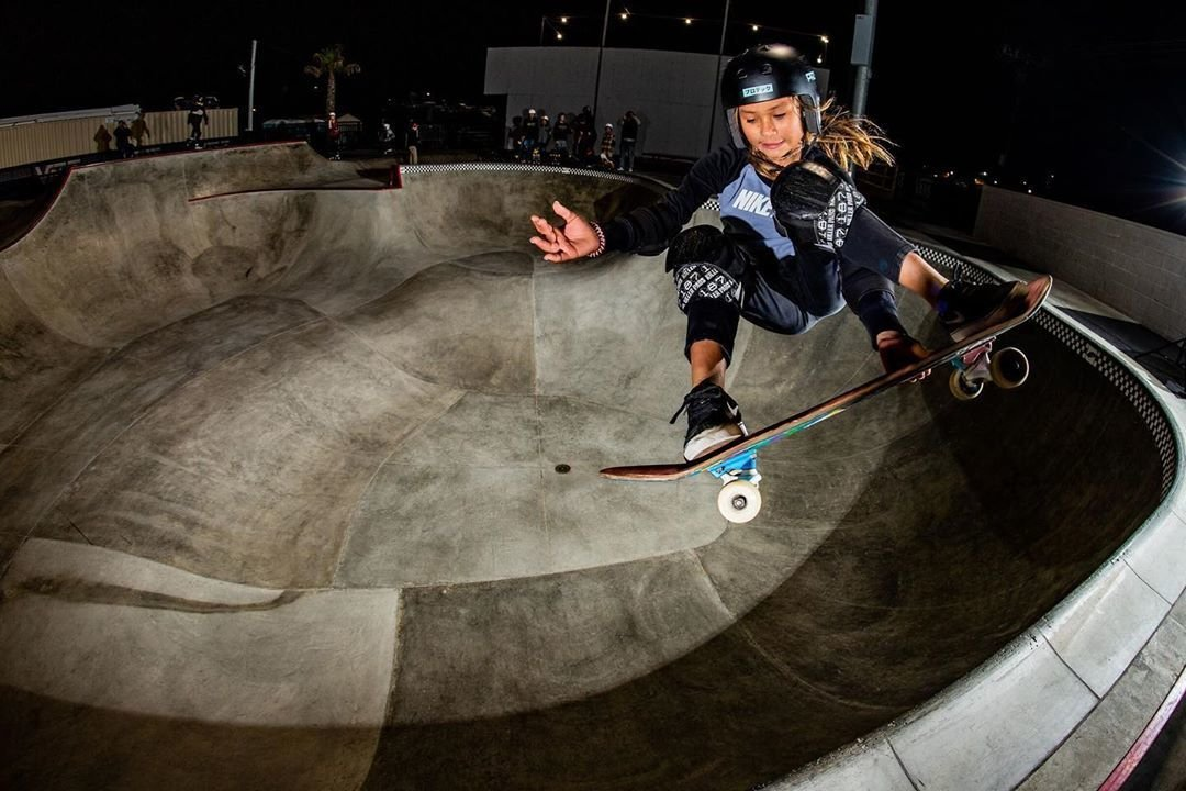 11-летная звезда скейтборда чуть непогибла натренировке. Ееготовили колимпийскому рекорду