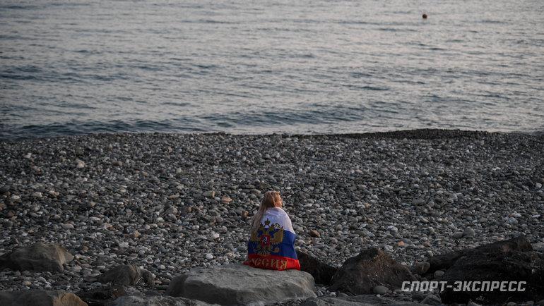 """Черноморское побережье в Сочи. Фото Дарья Исаева, """"СЭ"""""""