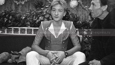 Евгений Плющенко. Фото Дмитрий Солнцев, -