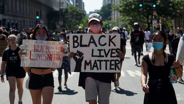 Протестующие вВашингтоне. Фото AFP
