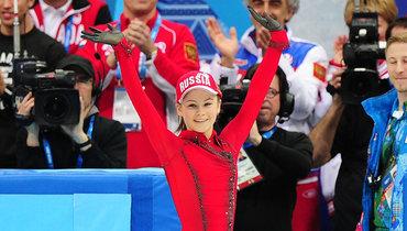 Девочка вкрасном пальто изСочи. Юлии Липницкой— 22