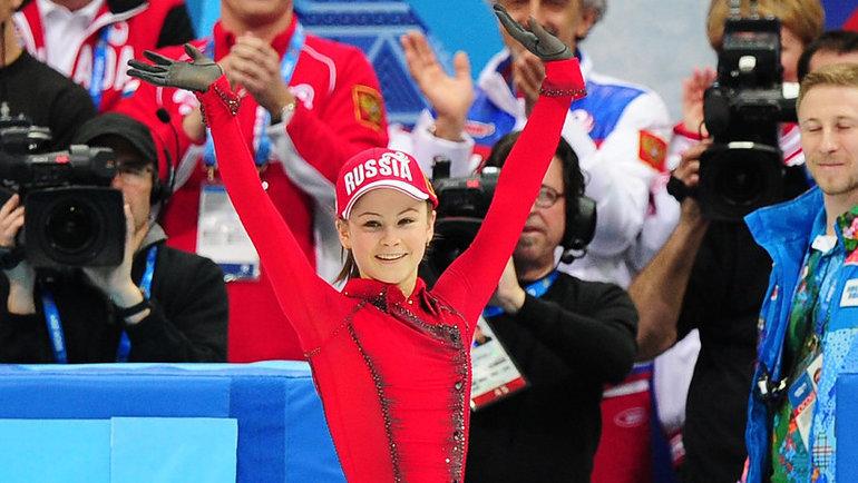 Юлия Липницкая— олимпийская чемпионка Сочи-2014.