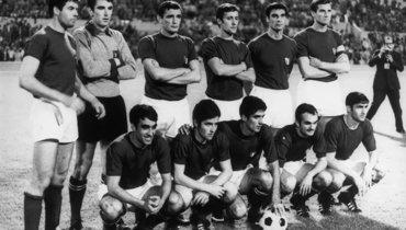 Печальный жребий. Сборная СССР непопала вфинал Евро-1968 из-за броска одной монетки