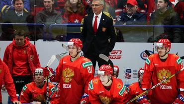 Ларионов возглавил молодежную сборную России