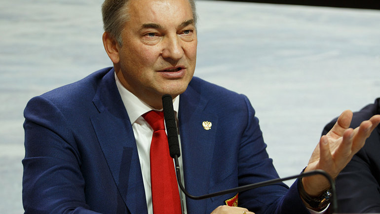 Владислав Третьяк. Фото ФХР.