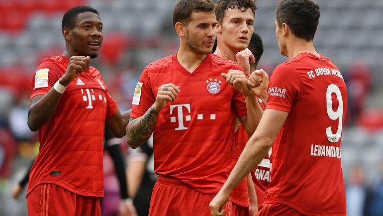 Всубботу «Бавария» может окончательно убить интригу вчемпионате Германии. Фото Reuters