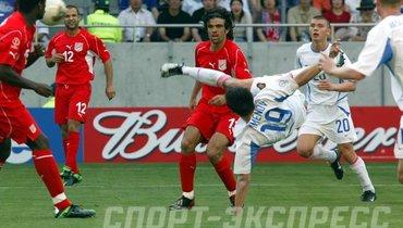 Сборная России ударно стартовала наЧМ-2002. Главному герою матча было 18 лет